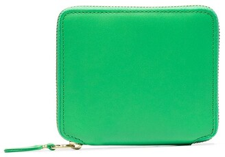 Comme des Garcons Square-Shape Zipped Wallet