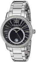 Stuhrling Original Women's 544B.02 Symphony Analog Display Swiss Quartz Silver Watch