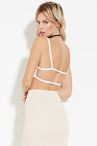 Forever 21 FOREVER 21+ Cutout-Back Cropped Cami