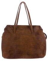 Henry Cuir Distressed Leather Shoulder Bag