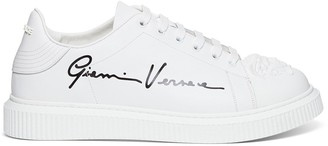 Versace Logo Low-Top Sneakers