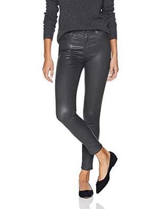 AG Adriano Goldschmied Women's Leatherette Farrah Skinny Ankle