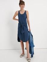 Lucky Brand Sandwash Tied Dress