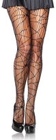 Leg Avenue Black Distressed Net Tights - Plus Too