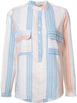 Stella McCartney Estelle shirt - women - Cotton/Cupro - 38