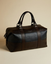 Ted Baker ELTON Striped leather holdall