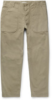 Folk - Cotton-canvas Trousers