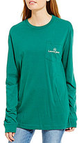 Lauren James Long-Sleeve Fall Ball Y'all Tailgate Tee