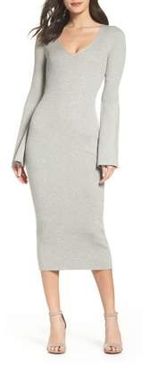 French Connection Virgie Knit Midi Dress