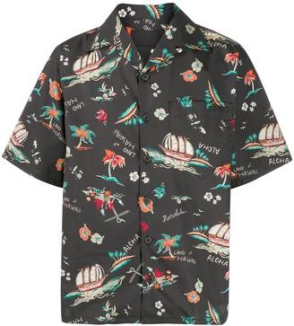 Prada Hawaii-print shirt