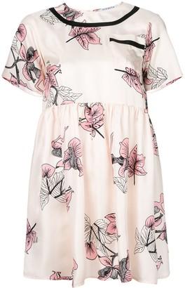 VIVETTA floral flared dress