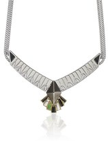 Eddie Borgo Silver Plated Horus Necklace