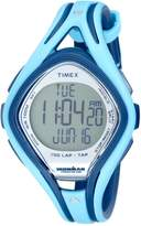 Timex Men's T5K288 Blue Resin Quartz Watch with Dial