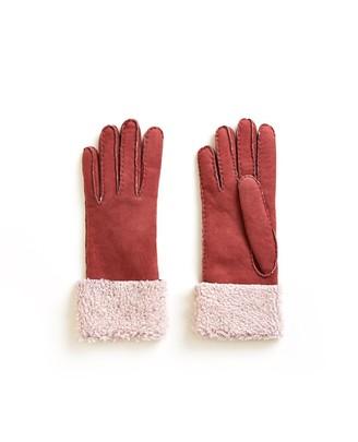 Veronica Beard Merino Donna Shearling Gloves