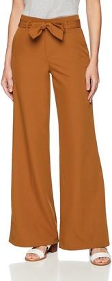 Lee Women's Flex Motion Regular Fit Wide Leg Self Tie Pant