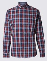 Blue Harbour Premium Pure Cotton Long Sleeve Shirt