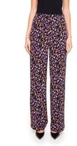 Versace Floral Print Trousers