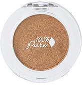 100% Pure Pressed Powder Eye Shadow in Bronze.