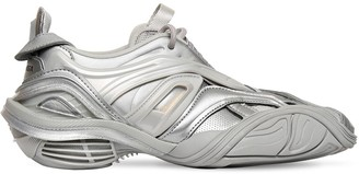 Balenciaga 30mm Tyrex Faux Leather & Rubber Sneaker