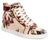 Christian Louboutin Women's Bip Bip Floral Sneaker