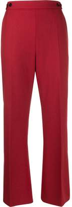 Marni button detail cropped trousers