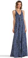 Derek Lam 10 CROSBY V-Neck Maxi Dress