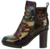 Acne Studios Cypress Iridescent Ankle Boots