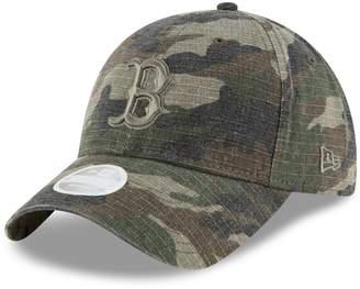 New Era Women's Camo Boston Red Sox Tonal Core Classic 9TWENTY Adjustable Hat