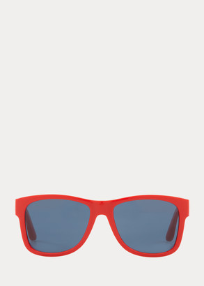 Ralph Lauren Color-Blocked Sunglasses