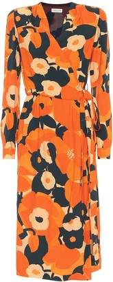 Dries Van Noten Floral wrap dress
