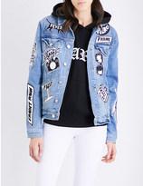 Frame Le Original Patch denim jacket