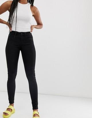 Noisy May skinny jeans-Black