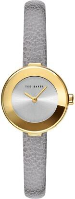 Ted Baker Women's Lenara Leather Strap Watch, 28mm