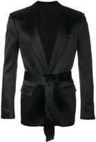 Balmain tied blazer