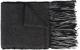 Voz micro pattern scarf