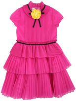 Gucci Silk Blend Organza Party Dress