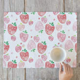 Minted Strawberry Fields Placemats