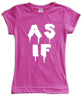 Urban Smalls Fuchsia 'As If' Fitted Tee - Toddler & Girls