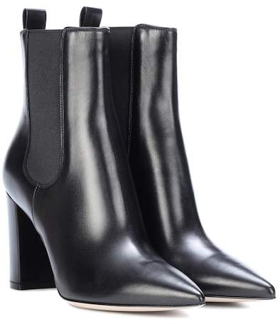 Gianvito Rossi Myers leather ankle boots