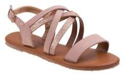 Nanette Lepore Girl's and Little Girl's Faux Leather Sandals