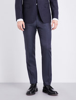 BOSS Slim-fit tapered wool trousers