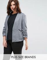 Elvi Grey Quilted Jacket
