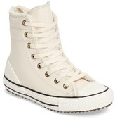 Converse Girl's Chuck Taylor All Star Hi-Rise Faux Shearling Lined Sneaker