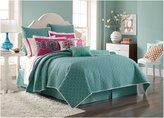 Laundry by Shelli Segal Shiva Coverlet, King - Blue - King
