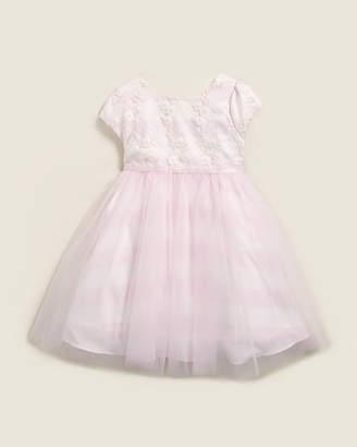 Pippa & Julie Toddler Girls) Pink & White Wide Stripe Ballerina Dress