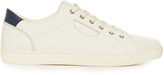 Dolce & Gabbana Low-top perforated-leather trainers