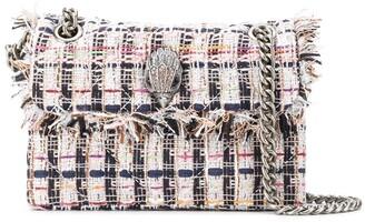 Kurt Geiger tweed Kensington X bag