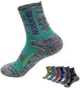 Swatom Outdoor Sport Climbing Skiing Running Socks Thicken Terry Socks For Women Men