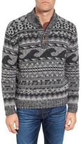 Faherty Wave Merino Wool Blend Sweater