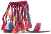 Chloé multi-tassel sandals - women - Sheep Skin/Shearling/Kid Leather - 39